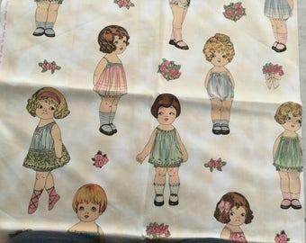 One Yard 24 Dolls  Sheryl Rae Marquez Aunt Lindy Print Fabric