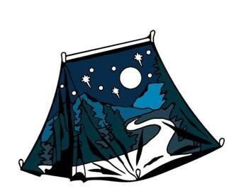 PreOrder: Sleep under the Stars Pin