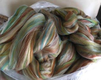 Patina  4oz 80/20 Merino Silk blended roving top