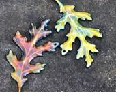 WORKSHOP WaterCOLOR Enamel Leaf Instructor - April Wengren Saturday, June 9, 2018