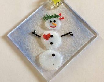 Sweet snowman love