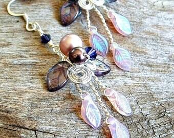 ON SALE Sophias Fairy Woods Earrings