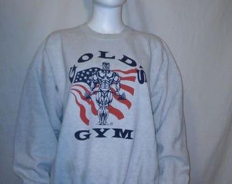 Closing shop SALE 40% off GOLD'S Gym 90's Sweatshirt