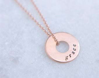 mini medallion inspired necklace | CORE WORDS