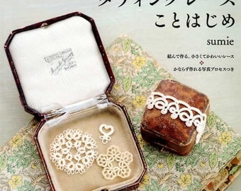 Let's Start Tatting Lace - Japanese Craft Book