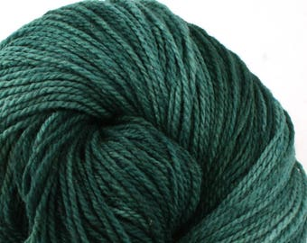 Mohonk Hand Dyed sport weight NYS Wool 370 yds 4oz Cypress