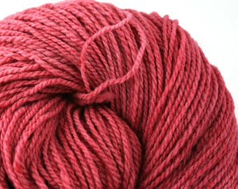 Mohonk Hand Dyed sport weight NYS Wool 370 yds/ 338 m 4oz/ 113g Rose Petals