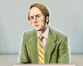 Pete Campbell Wooden Standee