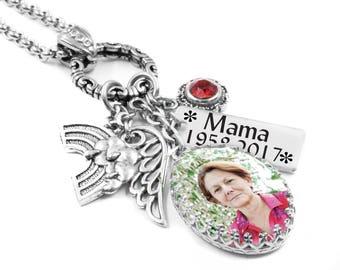 Custom Memorial Jewelry, Customized Memorial Necklace, Loss Jewelry, Remembrance Jewelry, Memory Jewelry