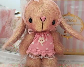 Mitsie OOAK Japanese Anime bunny rabbit by bear artist Jenny Lee of jennylovesbenny bears