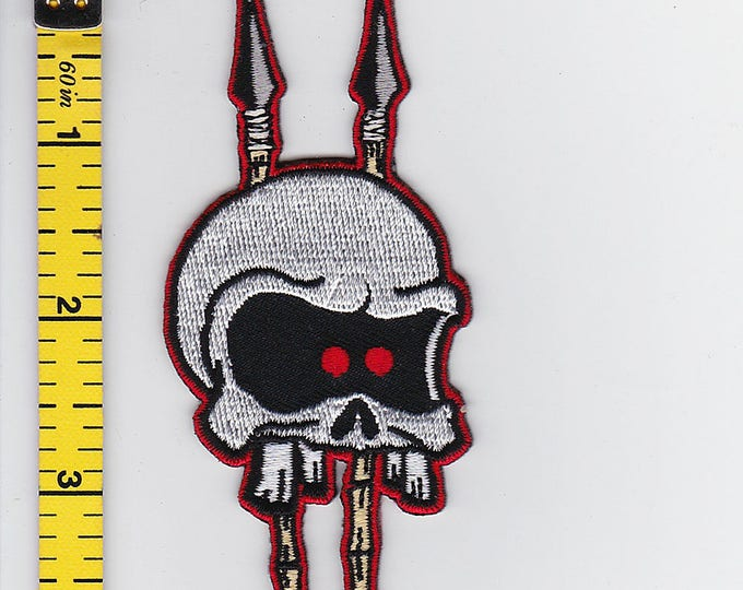 Iron On Patches - Voodoo Skull by Artist Rob Kruse