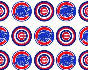 MLB Chicago Cubs Charms - Custom Created