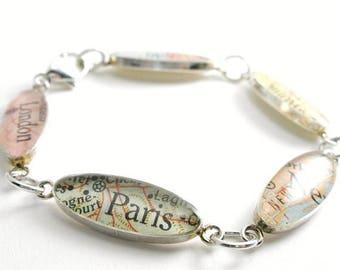 SUMMER SALE Gift for Her, Anniversary Gift, Bridal Bracelet, Stackable Bracelet, Contemporary Art, Modern Art