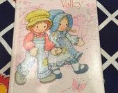 1970s Holly Hobbie Valentine Book