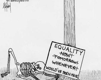 Equality Now CARTOON