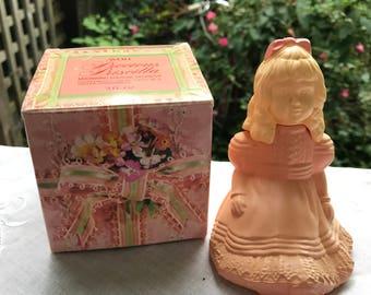 Vintage New in Box Avon Precious Priscilla Moonwind Cologne Bottle/Decanter