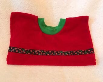 BABY BIB - Terry Cloth - Pull-Over- free shipping