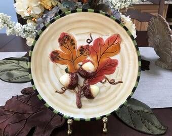 VINTAGE - Autumn Decorative Plate
