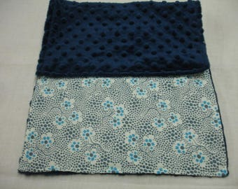Forget Me Not in Sugar Baby Burp Cloth 9 x 23 READY TO SHIP On Sale