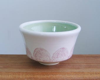 Air Planter or Small Teacup, Ceramic Cup for Liqueurs, Pottery Chawan, Handmade Stoneware Japanese Style Tea Bowl