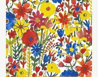 20%OFF Flower Pedals White Floral by Carolyn Gavin for Windham Fabrics