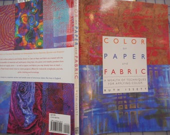Color on Paper and Fabric -   clearance