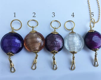 Glass Lanyard Necklace