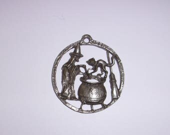 Witch's Brew Pendant~Wiccan~ Witch~ Halloween