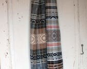 any day now handwoven winter scarf