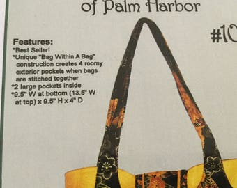 Bag Within A Bag, Tote, Purse pattern, Uncut, Pirse o Nalities #106