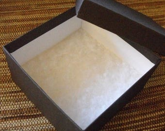 STOREWIDE SALE 10 Pack 3.5 X 3.5 X 2 Inch Chocolate Brown Size Cotton Filled Jewelry Presentation Gift Boxes