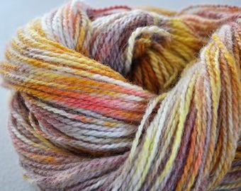 Happy Trails.  Handpainted Wool Yarn 2 Ply DK weight