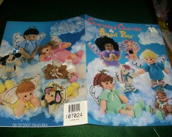 Crocheting Pattern Leaflet Charming Cherubs and Angel Pets Annie's Attic 878801 Crochet Patterns