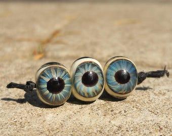 Blue Eye Glass Beads