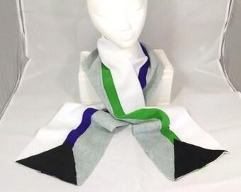 Demisexual & Demiromantic Pride Scarves