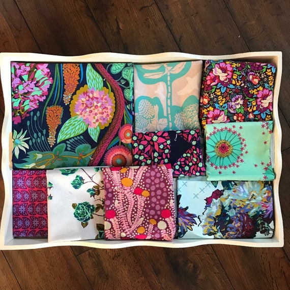 Anna Maria Horner Sweet Dreams Patchwork and Minky Blanket Made to Order
