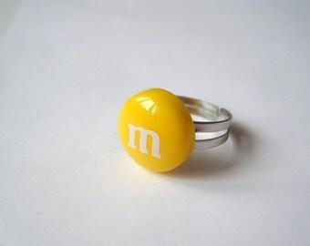 Ring - Sweet yellow M