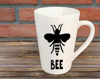 Queen Bee Mug Coffee Cup Gift Home Decor Kitchen Bar For Her Him Any Color