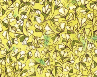 Michael Miller Fabric Scattered Buds in Yellow from Magnolia Lane Collection 1 Fat Quarter