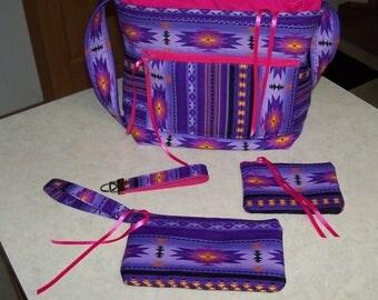Navajo SouthWestern Tote Bag Purse