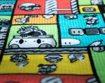 Super Mario Bros Nerd Mat Refillable Catnip Mat