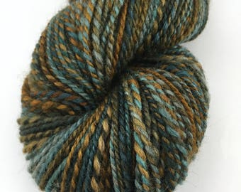 "Handspun Sport Yarn ""Yellowstone"" BFL 220 yds"