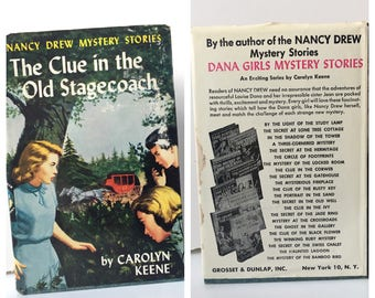 The Clue in the Old Stagecoach Nancy Drew 1960 First Edition
