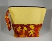 GRAND zip - sac à projet doublé - 100 % coton