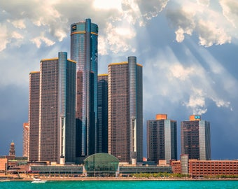 GM Ren Cen Building Detroit