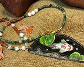 SALE #HonorSacrifice ~ The Zen of Koi Necklace