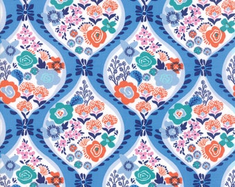 Blue Voyage Fabric - 27280 23 - Kate Spain - Moda