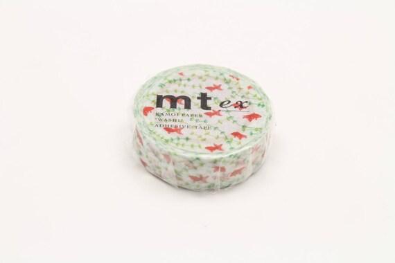 goldfish - mt ex washi tape - 15mm x 10m x 1 roll