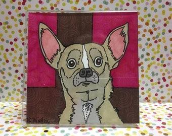 Chihuahua #1,  Framed Print