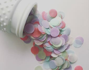 ENGLISH GARDEN / tissue paper confetti /wedding decor / party confetti / table decoration / pastel decorations / balloon confetti /